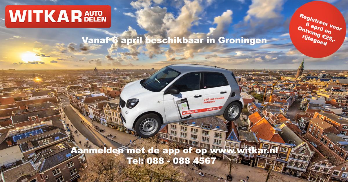 Witkar autodelen Groningen